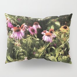 Summer in the Ether: Wild Flowers of Bright Pastures Pillow Sham