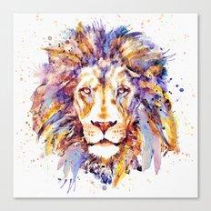 Lion Head Canvas Print
