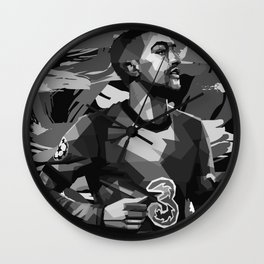 Ziyech on Black and White Color Wall Clock