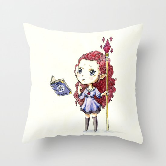 Magic Muffin Throw Pillow