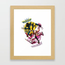 SuperLadies Framed Art Print