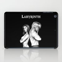 labyrinth iPad Cases featuring Labyrinth by Ashleigh Hungerford