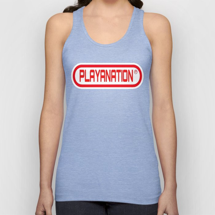 PlayaNationMG RW 2-Tone Unisex Tank Top