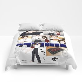 big things in small packages Comforters