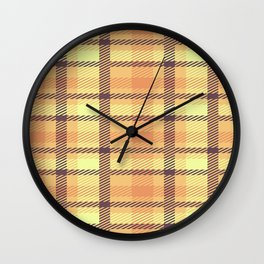 Pattern 2015 Wall Clock