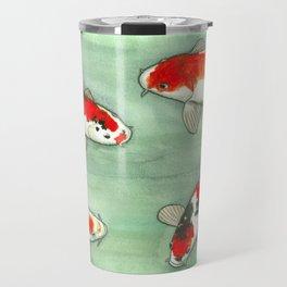 La ronde des carpes koi Travel Mug