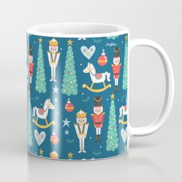 Nutcrackers under the Christmas Tree Coffee Mug