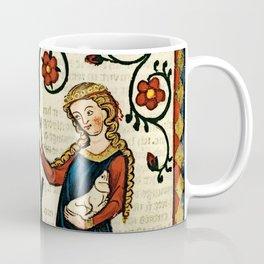 Codex Manesse: Bernger von Horheim Coffee Mug