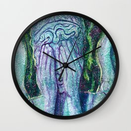 Weeping Angel Wall Clock