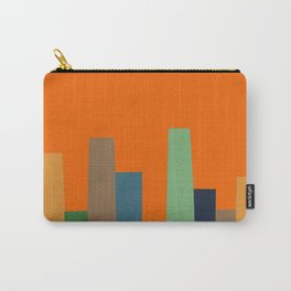City Perspective-Tangerine Carry-All Pouch