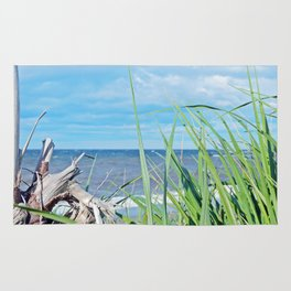 Through Grass and Driftwood Rug