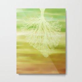 inhaling spring Metal Print