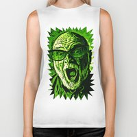 scream Biker Tanks featuring SCREAM! by Silvio Ledbetter