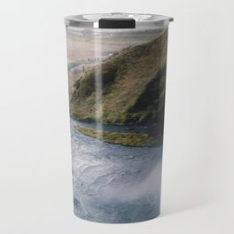 Seljalandsfoss Perspective Travel Mug