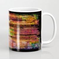 rio Mugs featuring Rio by FYLLAYTA, surface design,Tina Olsson