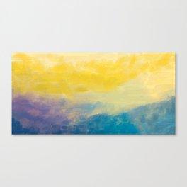 Abur on Dusk Canvas Print