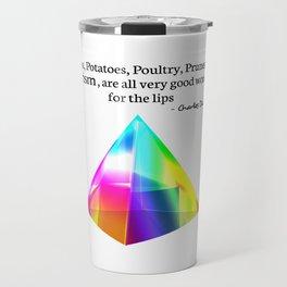 Papa, Potatoes, Prunes, Prism Travel Mug