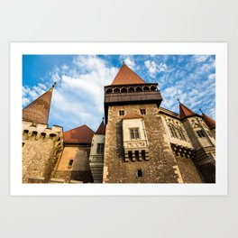 Castle & Cloudscape Art Print