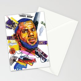 The New Laker Stationery Cards