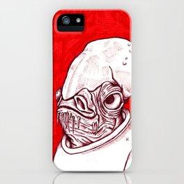 Ackbar iPhone Case
