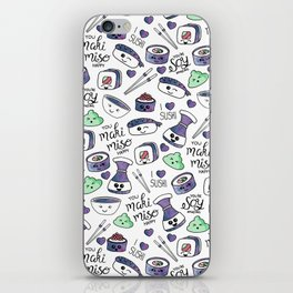 Galaxy Sushi iPhone Skin
