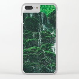 Starley Burn Waterfall Clear iPhone Case