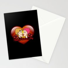 happy valentine's day II Stationery Cards
