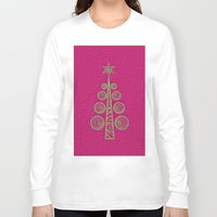 christmas tree Long Sleeve T-shirts featuring Christmas Tree by Mr & Mrs Quirynen