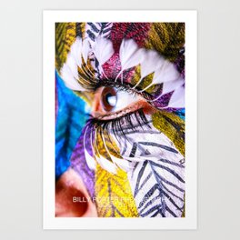 Anita Feather VI. Art Print