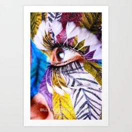 Anita Feather VI. Art Print