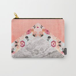 MIX IT BABY - CORAL MARBLE Carry-All Pouch