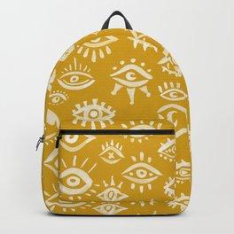 Mystic Eyes – Marigold Palette Backpack