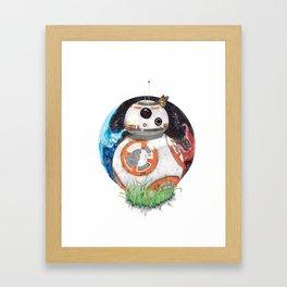 Space Exploration Framed Art Print