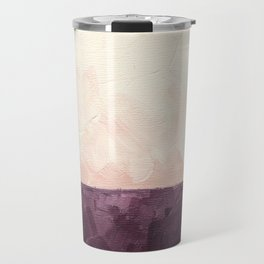 Landscape in Plum Travel Mug