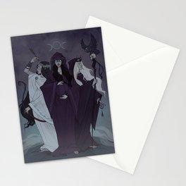 Triple Goddess Stationery Cards