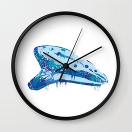 Ocarina Wall Clock