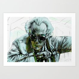 Doc Brown Art Print