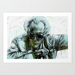 Doc Brown Art Print