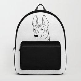 Xoloitzcuintli (Black and White) Backpack