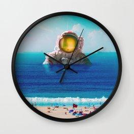 Missing Summer Wall Clock