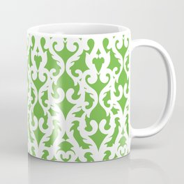 Modern Baroque Green Coffee Mug