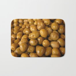 Green Olives Bath Mat