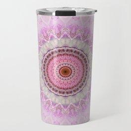 Mandala Magnolia Travel Mug