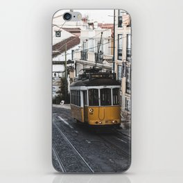 Yellow Tram iPhone Skin