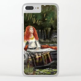 The Lady of Shalott 2017 Clear iPhone Case