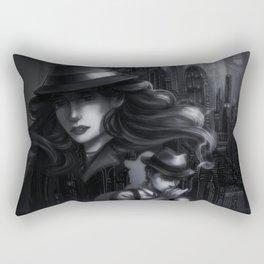 Coruscant City  Rectangular Pillow