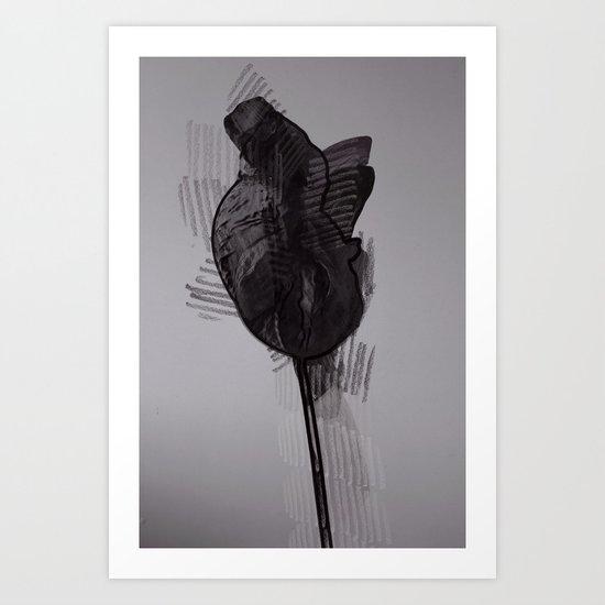 leaf seven Art Print