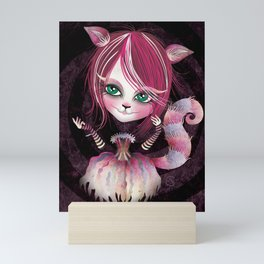 Cheshire Kitty Mini Art Print