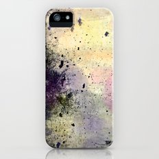Abstract Mixed Media Design iPhone (5, 5s) Slim Case