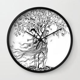 Tree of Knowledge (Mistrust) Wall Clock